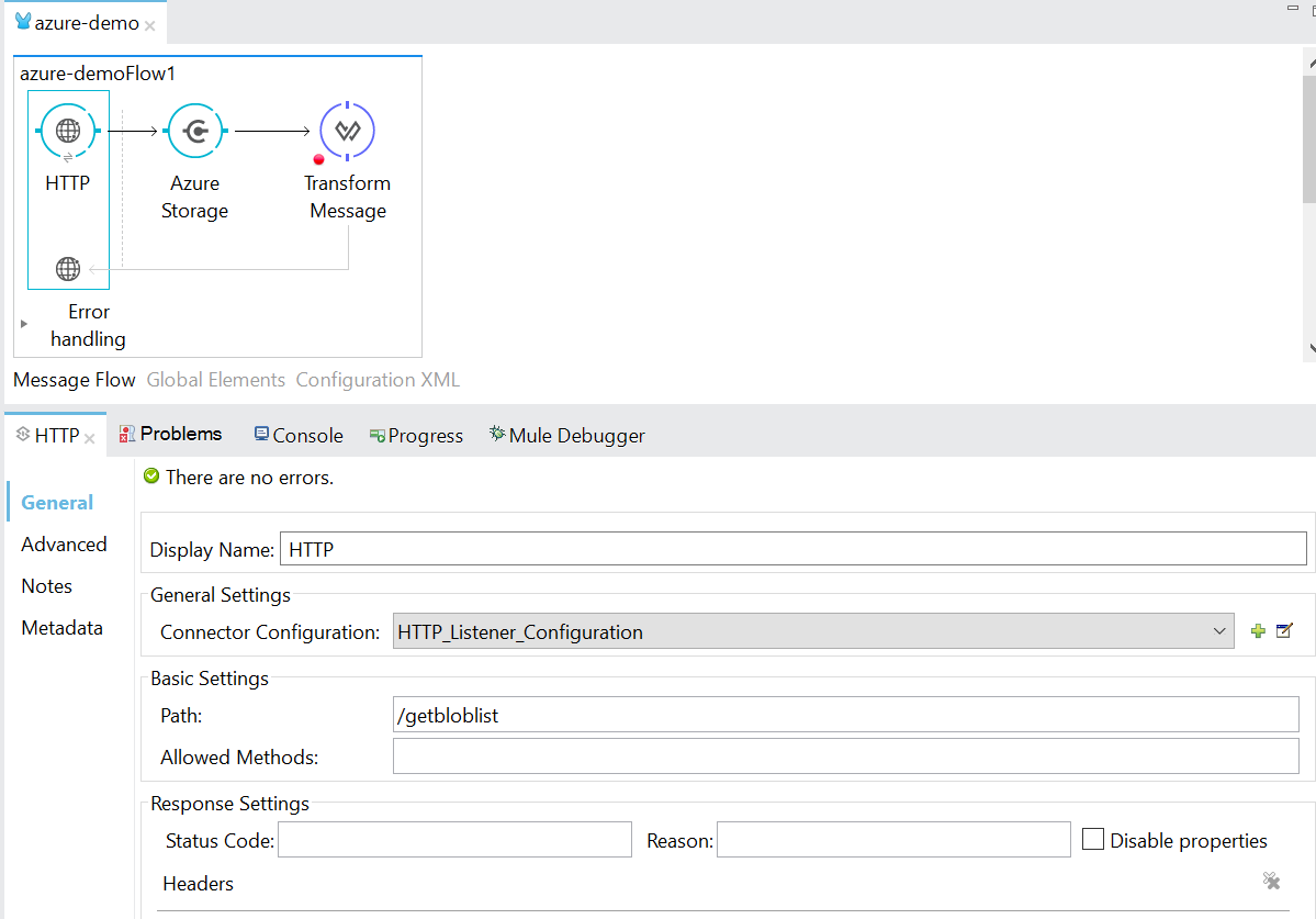 List Blob in Azure Container