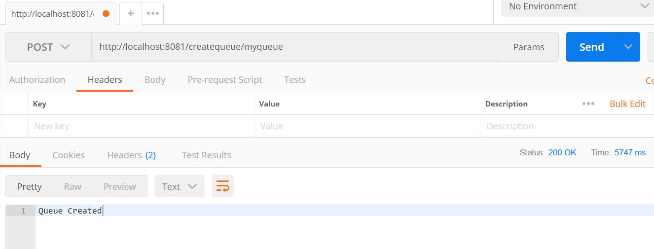 Create Queue in Azure