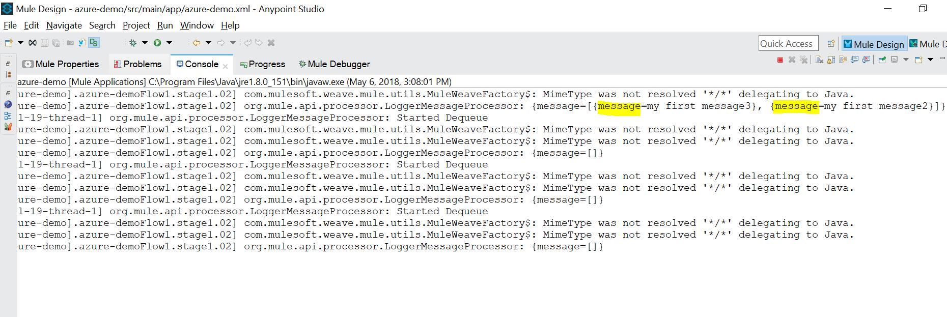 Dequeue multiple message from Azure Queue