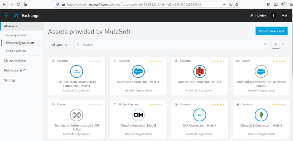 MuleSoft Exchange