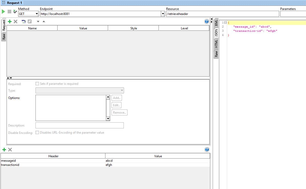 Retrieve Custom Header from HTTP request