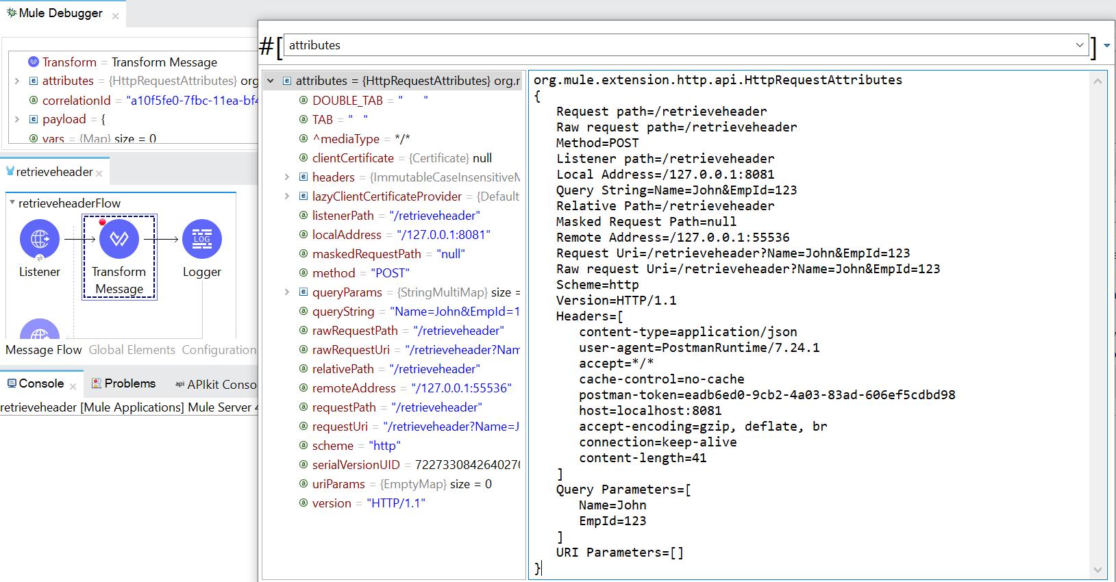 Retrieve Query Parameters from HTTP URL