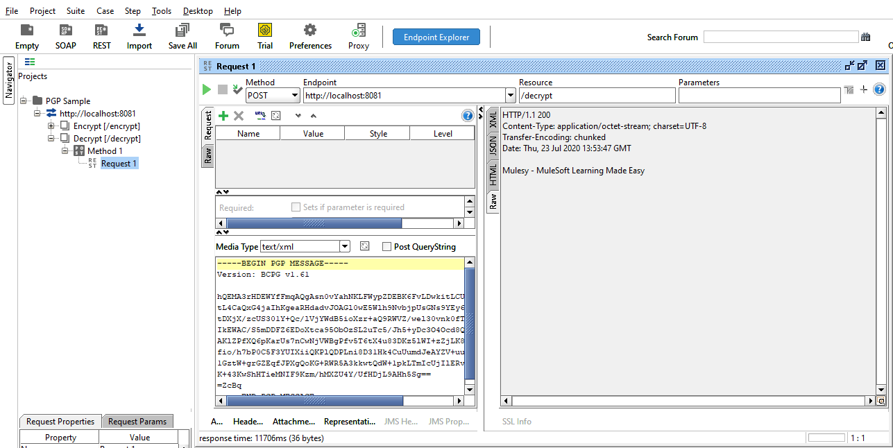 PGP Decryption in MuleSoft