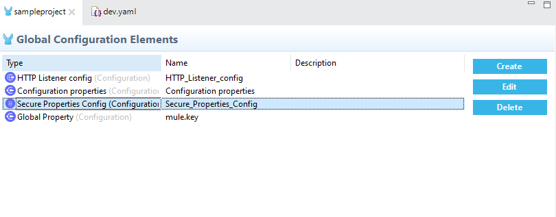 YAML file As Configuration Property In Mule