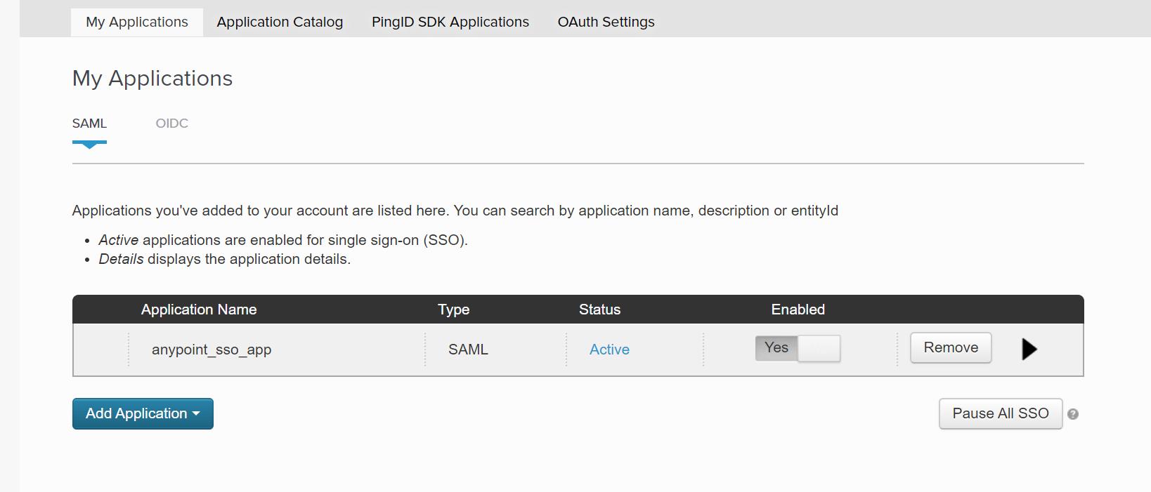 Implement SSO Using PingOne (PingIdentity) External Identity Provider