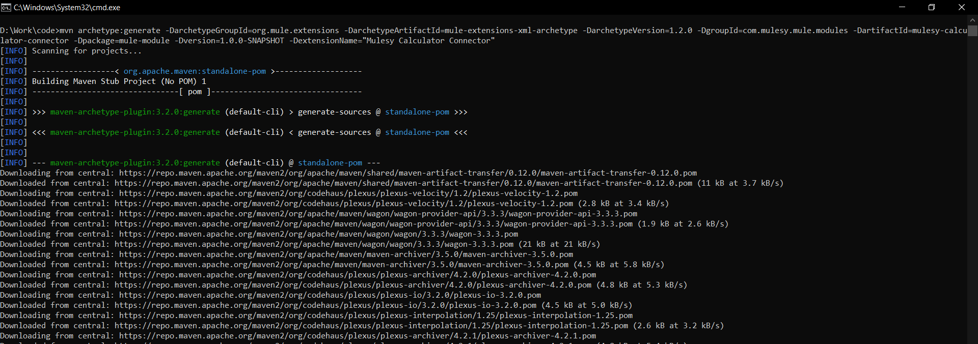 MuleSoft custom connector using XML based SDK.