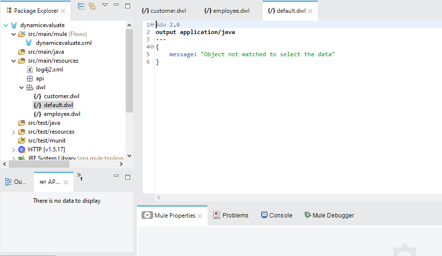 Select Dataweave(DWL file)Dynamically Using Dynamic Evaluate In Mule 4