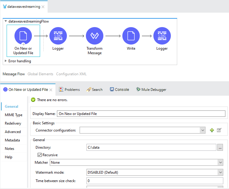 Dataweave Streaming In Mule 4