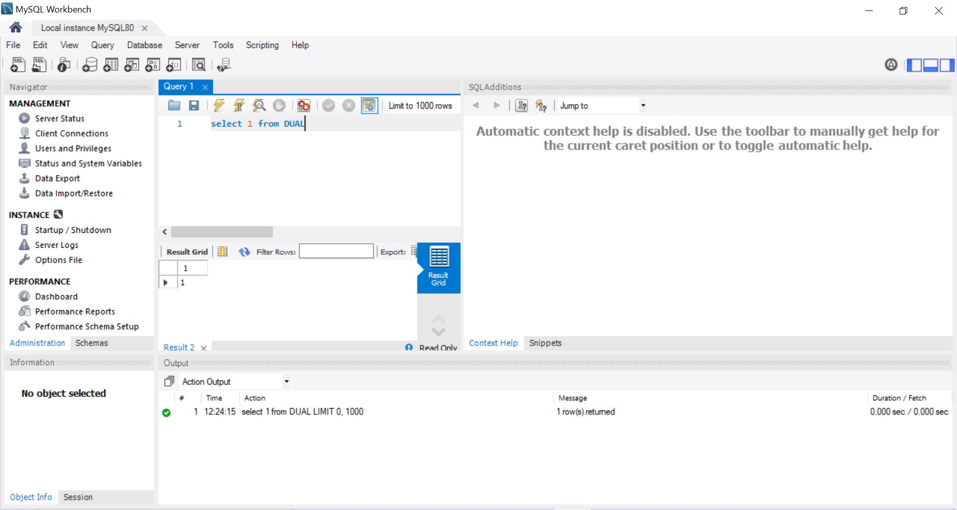 Install MySQL Database