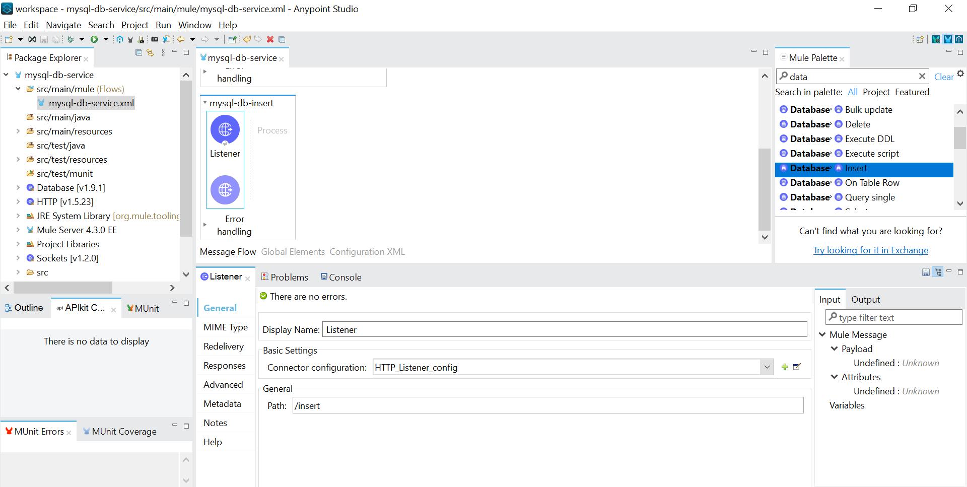 Insert in MySQL DB table